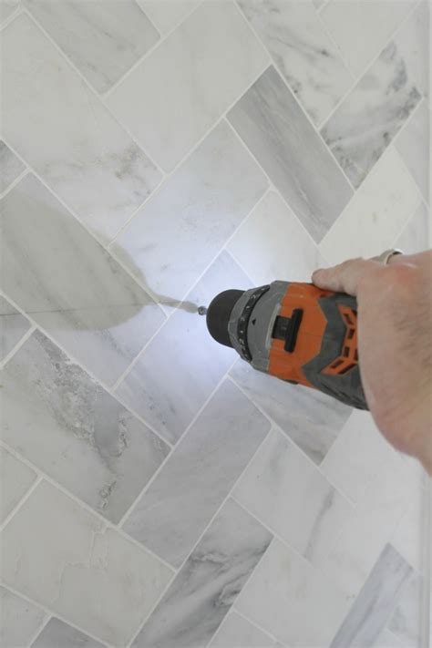 Drilling Through Ceramic Tile by How To Drill Through Tile Drill Through The Tile