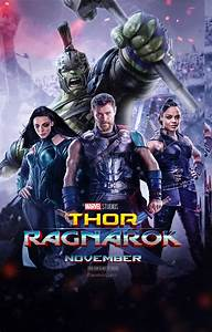 Thor Ragnarok 2017 Poster V2 by edaba7 on DeviantArt