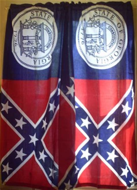 rebel flag curtains images
