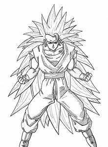Son Goku Ssj3 By Przemekw On Deviantart