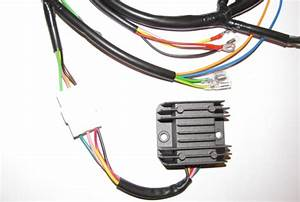 Cb350  Cl350 Wiring Harness Reproduction New  Cam Chain