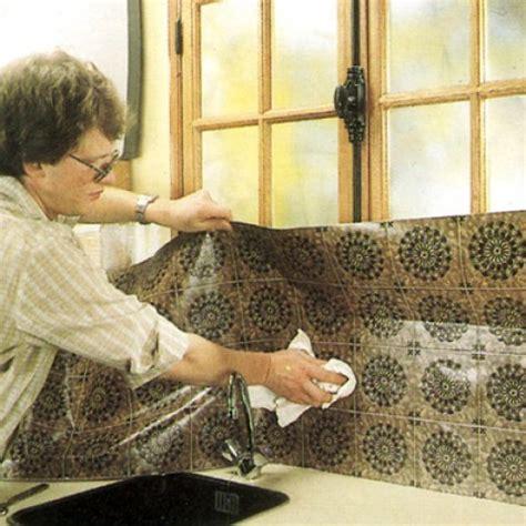 autocollant pour cuisine revêtement mural vinyle pvc
