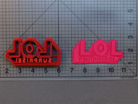 lol surprise doll logo   cookie cutter
