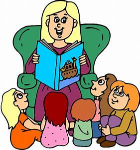 Teacher Reading To Students | Clipart Panda - Free Clipart ...