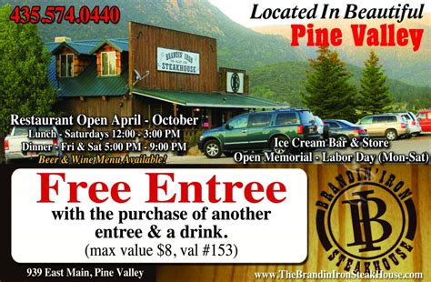 Brandin Iron Pine Valley