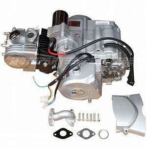125cc Engine Motor Atv Semi Auto W  Reverse 50cc 70cc 90cc