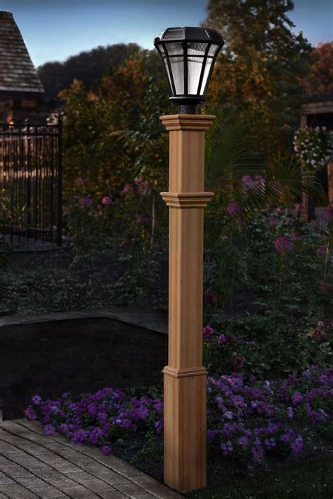 burton  post diy outdoor lighting outdoor lamp posts