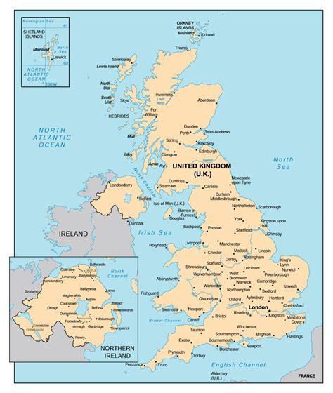 united kingdom maps  cities  travel information