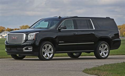 GMC Car : 2017 Gmc Yukon Xl Denali 4wd Instrumented Test
