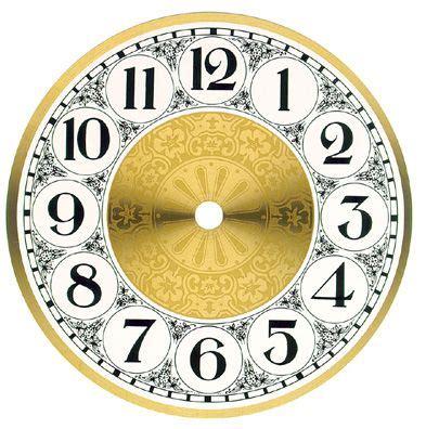 clock face printable ideas  pinterest