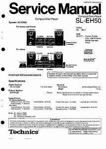 Download Free Software Technics Sl-eh500 Manual