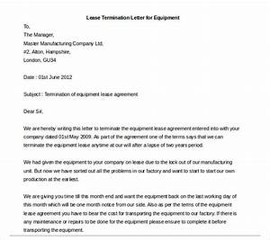 lease termination letter 6 free word pdf documents With termination of rental agreement letter template