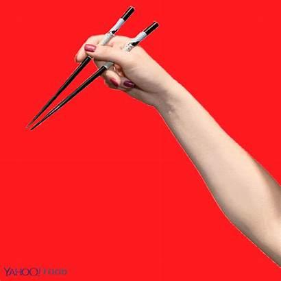 Chopsticks Correctly Using Drop Never Yahoo Hold