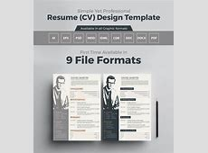 10+ Newest Free & Premium Resume Templates For Graphic