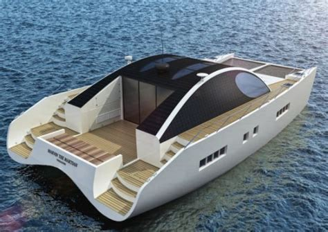 Electric Pleasure Boat by Marvin The Martin Pleasure Boat Cruises On Solar Energy