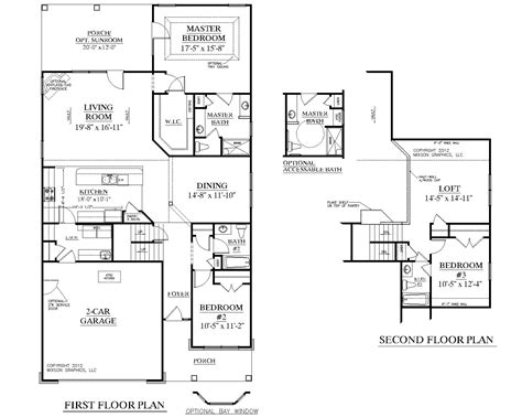 traditional floor plans house plan 2224 kingstree floor plan traditional 1 1 2