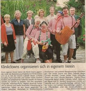 Einen Verein Gründen : f rderverein paderborner klinik clownarbeit e v ~ Lizthompson.info Haus und Dekorationen