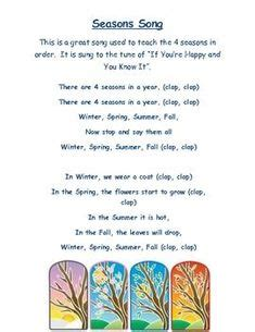 seasons theme images seasons kindergarten
