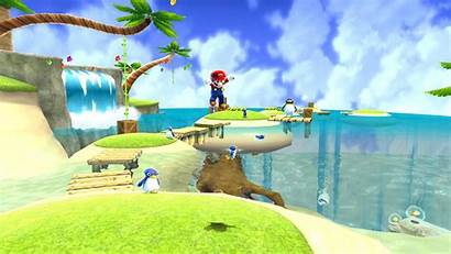 Mario Galaxy Super Wallpapers Background Backgrounds Games