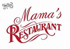 Wandtattoo Küche Bilder : wa265 wandaufkleber mama s restaurant wandtattoo k che ~ Sanjose-hotels-ca.com Haus und Dekorationen