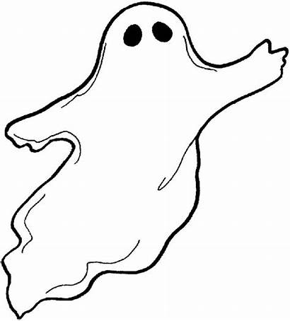 Coloring Ghost Printable Pages Drawing Ghosts Spooky