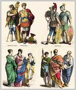 Ancient Roman clothing. Roman Emperor, Legionaries, Roman ...
