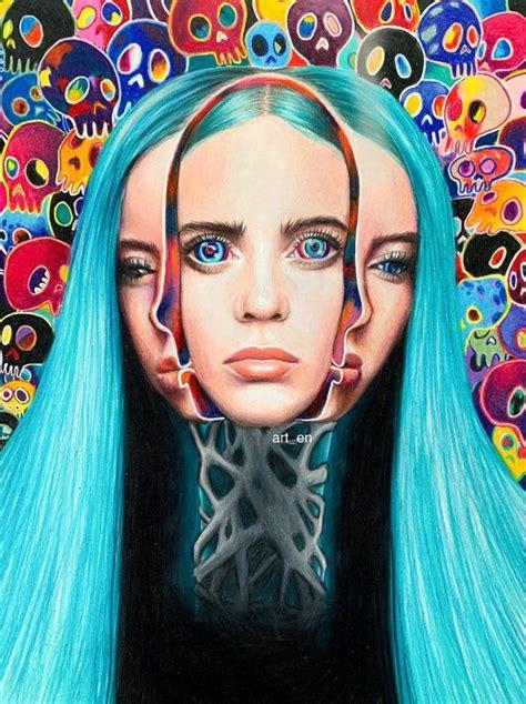 Billie Eilish x Takashi Murakami | Takashi murakami art ...