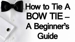 How To Tie A Bow Tie For Dummies 48740 | NOTEFOLIO