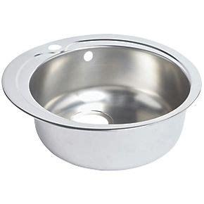 screwfix kitchen sinks kitchen sink stainless steel 1 bowl 485 x 485mm 2130