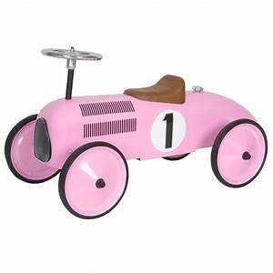 Retro Bebe Voiture : voiture porteur enfant design rose protocol design enfant ~ Teatrodelosmanantiales.com Idées de Décoration