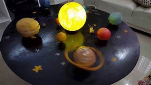Science Project  Solar System Model  School Project