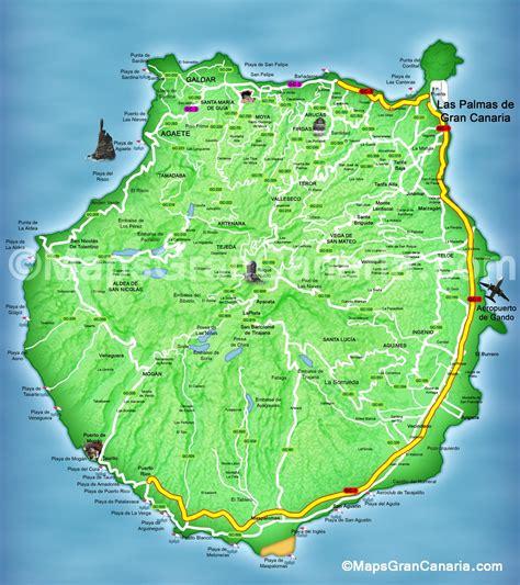 maps gran canaria mapgrancanaria