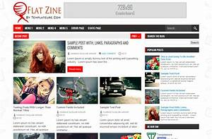 flat zine blogger template amazing blogger templates With how to create blogspot template