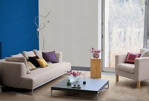 Salon Gris Bleu : 14 id es couleur d co pour associer du gris un bleu ~ Melissatoandfro.com Idées de Décoration