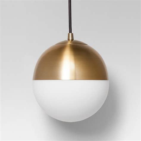 brass globe pendant light glass globe pendant ceiling light brass project 62 target