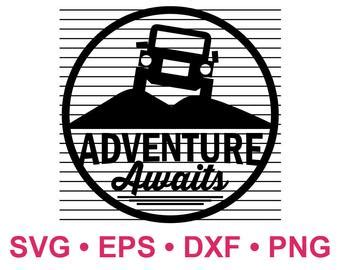 adventure awaits svg etsy