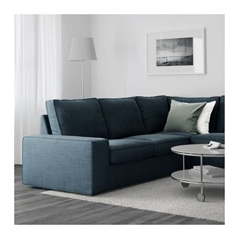 Ikea Kivik Sofa With Chaise by Kivik Corner Sofa 2 2 With Chaise Longue Hillared Dark