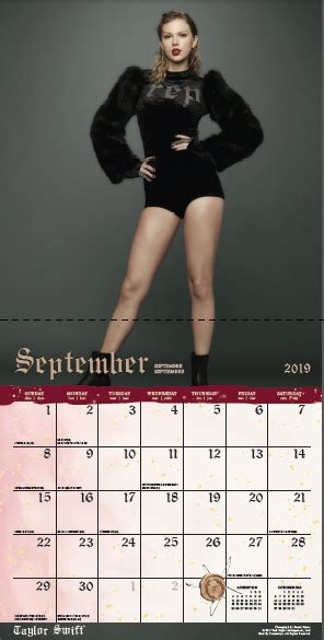 taylor swift square calendar released