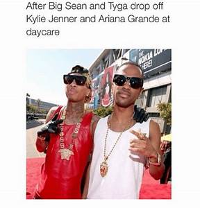 After Big Sean and Tyga Drop Off Kylie Jenner and Ariana ...