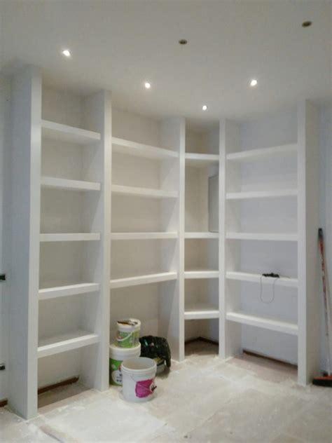 cartongesso librerie libreria in cartongesso idee ristrutturazione casa