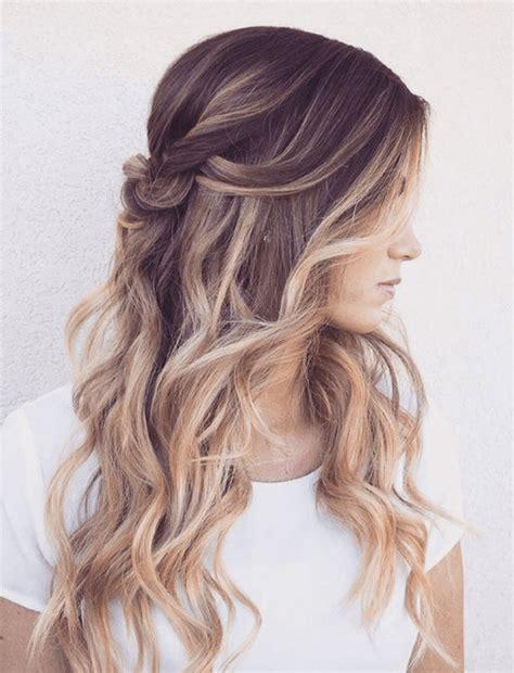 frisuren lange haare locken hochstecken   frisur