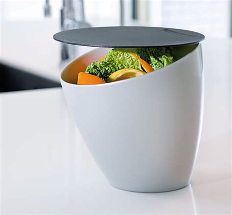 store counter top compact compost bin