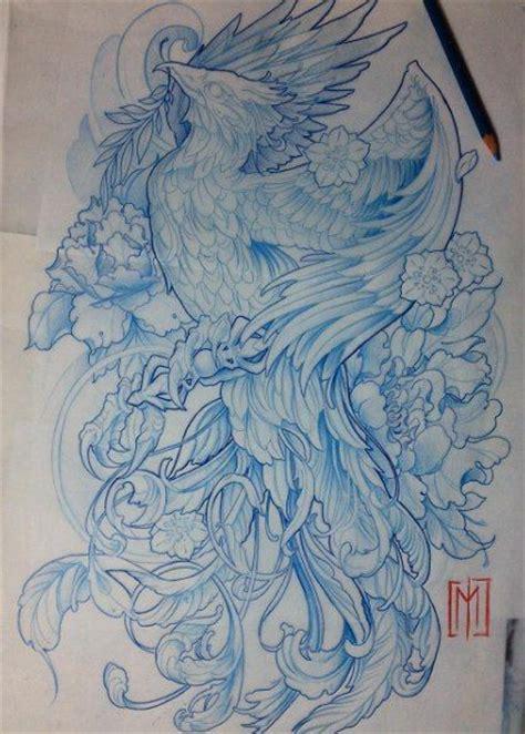japanese phoenix tattoo ideas  pinterest