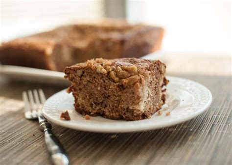 Cream the butter and sugar in the bowl of an electric mixer fitted with the paddle attachment for 4 to 5 minutes, until light. Cinnamon Streusel Coffee Cake Recipe from Ina Garten   Recipe in 2020   Coffee cake recipes ...
