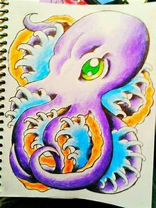 Octopus tattoo design by jessicore666 on DeviantArt