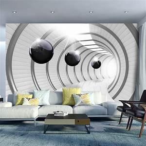 My Xxl Poster : vlies fototapete tapeten xxl wandbilder tapete abstrakt 3d tunnel a c 0001 a a in heimwerker ~ Orissabook.com Haus und Dekorationen