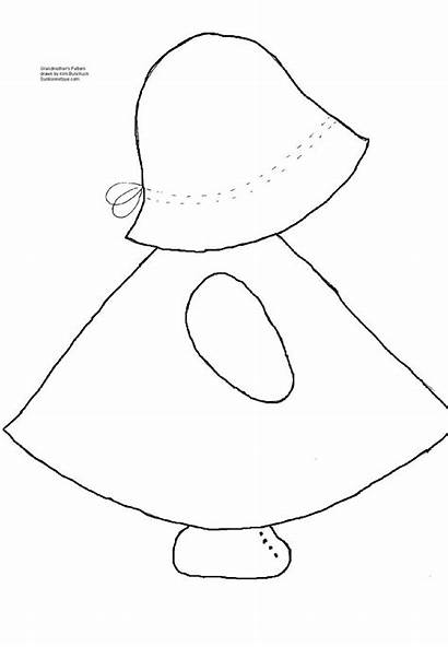 Pattern Sunbonnet Sue Patterns Applique Sewing Quilt