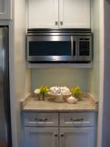 Over The Range Microwave Without Cabinet by How To Hide A Microwave Building It Into A Vented Cabinet Young House Love