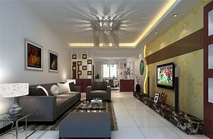 Gray ceiling and sofa design for living room download d