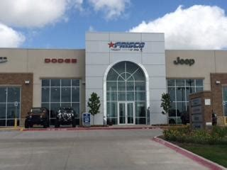 frisco chrysler dodge jeep ram car dealership  frisco